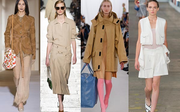 Spring 2017 trends for women over 40: Khaki and utility details | 40plusstyle.com