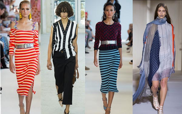 Spring 2017 trends for women over 40: Bold Stripes | 40plusstyle.com