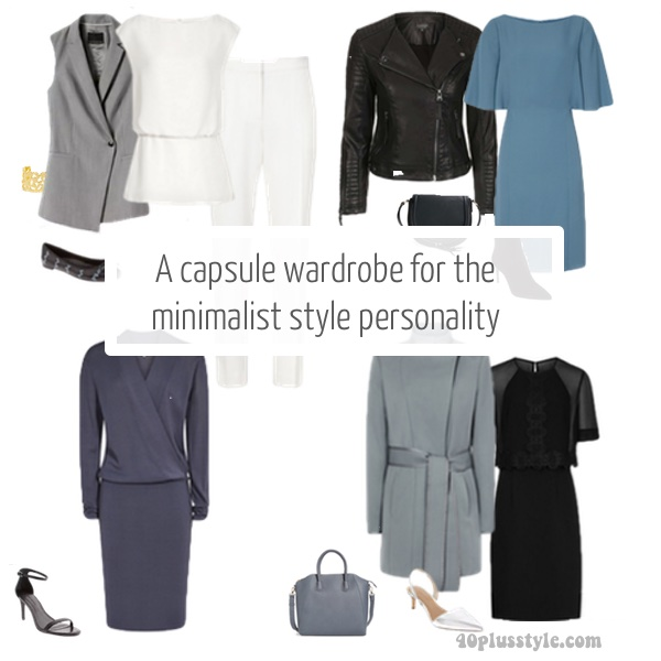 A capsule wardrobe for the minimalist style personality for Minimalist look