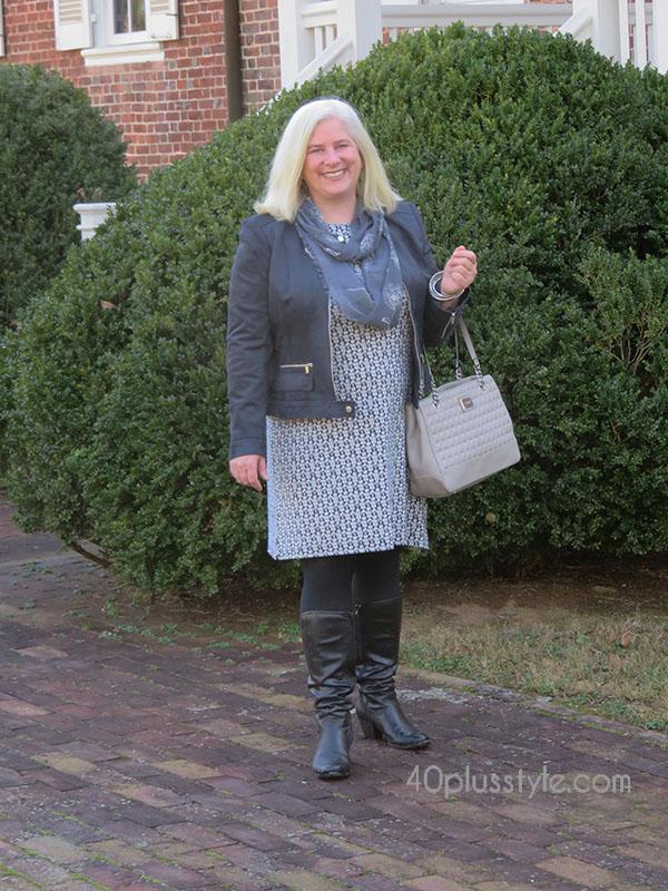 Best dress shape for apple-shaped women | 40plusstyle.com