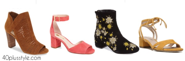 The best shoes to pair with the new crop flare jeans   40plussstyle.com