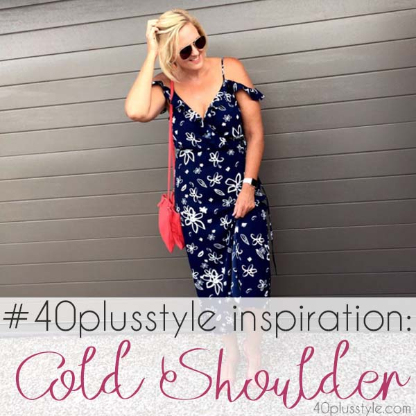#40plusstyle inspiration: cold shoulder tops - 20 stylish outfits! | 40plusstyle.com
