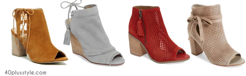 the new spring/summer booties and how to wear them | 40plusstyle.com