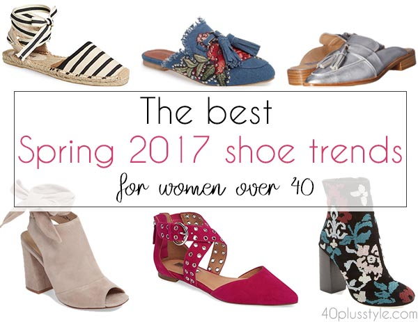 The best spring 2017 shoe trends for women over 40