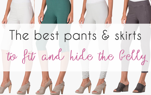 The best pants and skirts to fit and hide your belly
