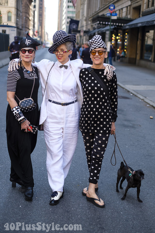 Fun and stylish looks from the 2017 New York Easter parade | 40plusstyle.com