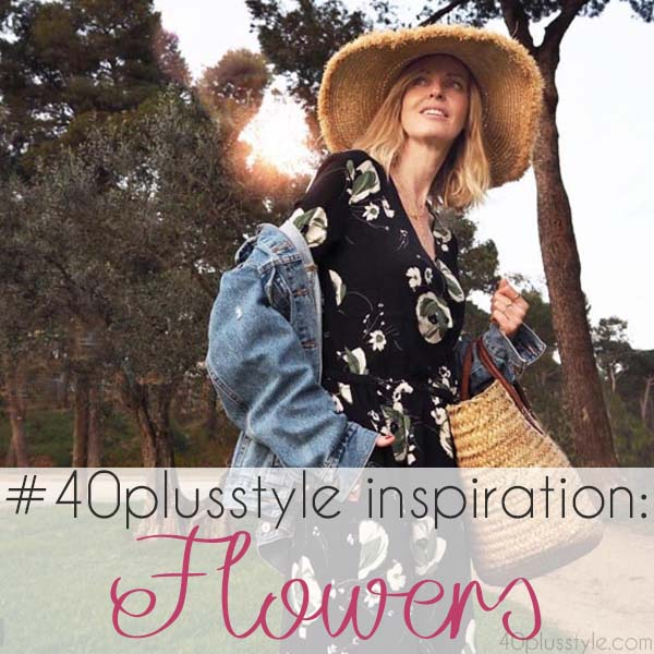 #40plusstyle inspiration: Flowers | 40plusstyle.com
