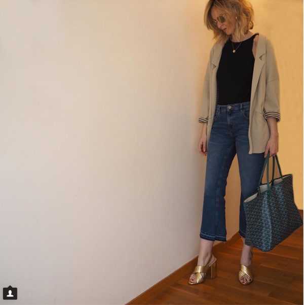 Stylish cropped pants | 40plusstyle.com