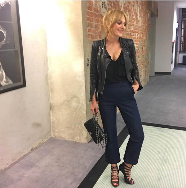leather jacket | 40plusstyle.com