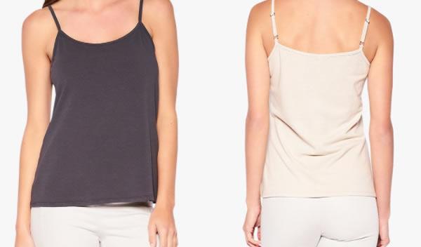 basic cotton camisoles | 40plusstyle.com