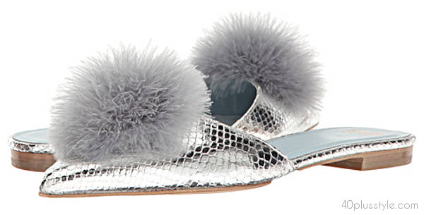 Evening out slippers | 40plusstyle.com