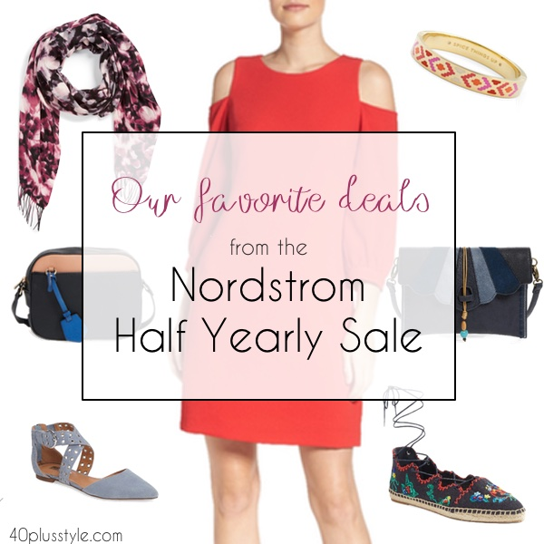 Our favorite deals from the Nordstrom Half Yearly Sale | 40plusstyle.com