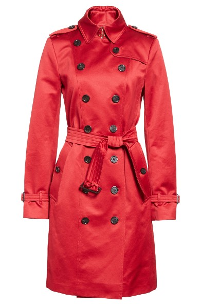 Best trench coats for women Burberry | 40plusstyle.com