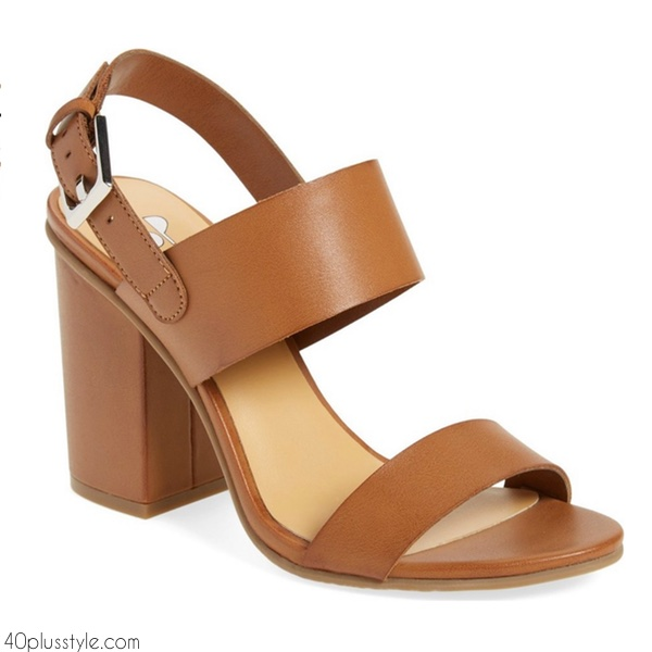 The block heel sandals to rock this summer | 40plusstyle.com
