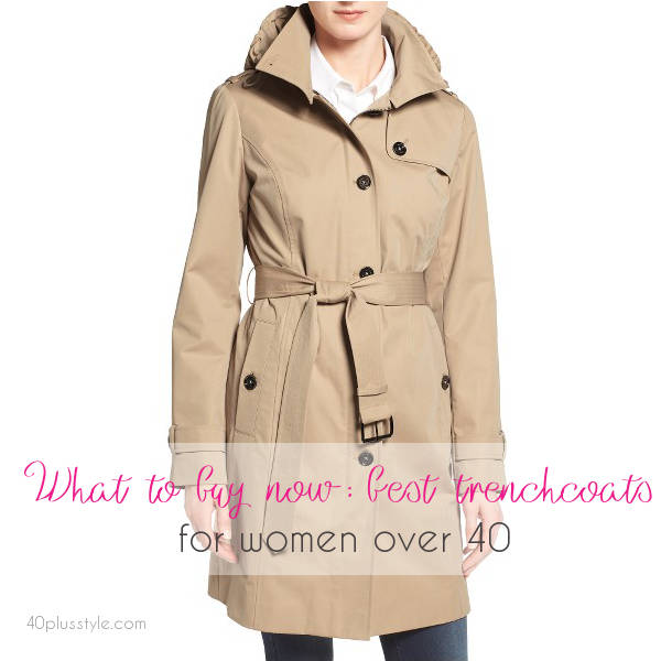 The best trench coats for women over 40 in stores now | 40plusstyle.com