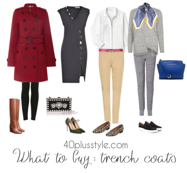 best womens trench coats 40+ style