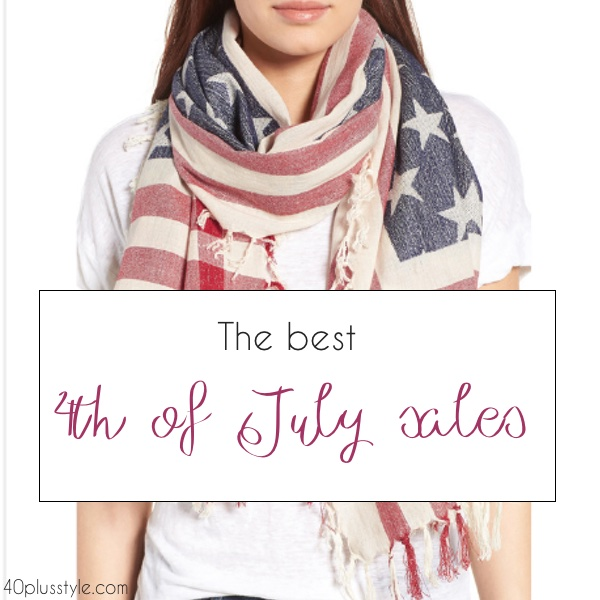 The best 4th of July sales | 40plussstyle.com
