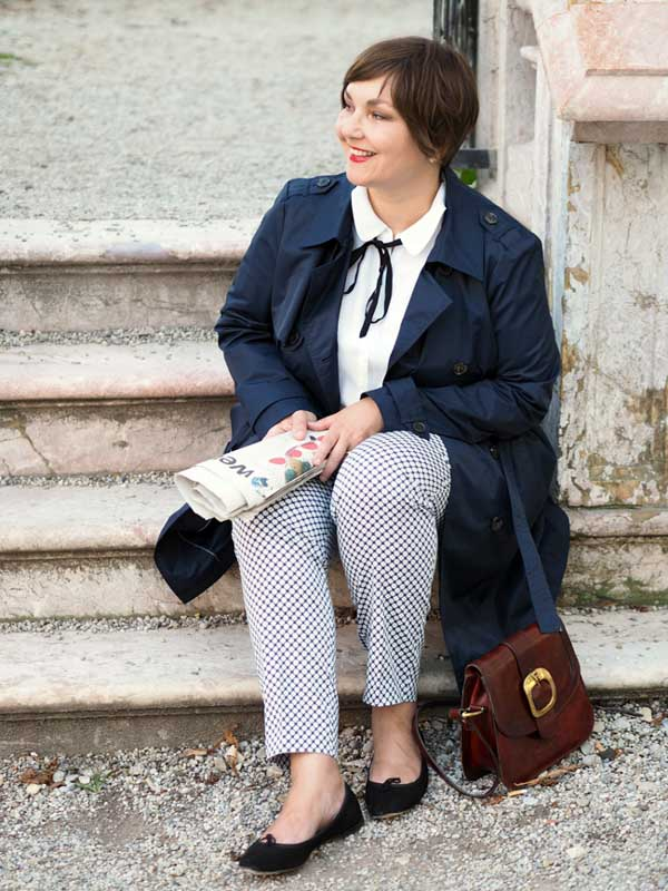 German fashion blogger style interview | 40plusstyle.com