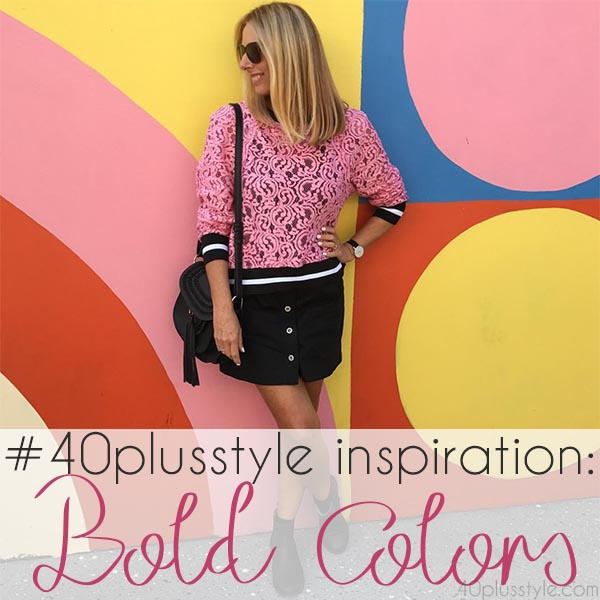 #40plusstyle inspiration: Bold colors | 40plusstyle.com