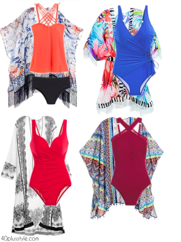 Swimsuits to pack for a cruise | 40plusstyle.com