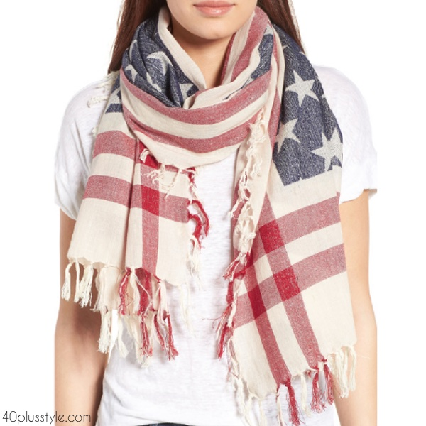 4th of July accessories sales | 40plusstyle.com