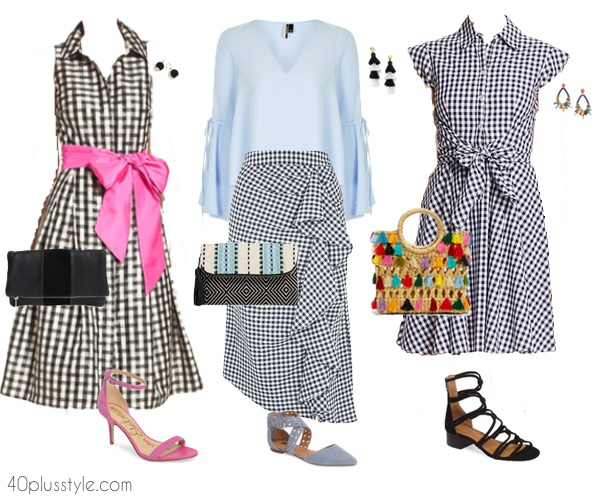 Stylish outfits to wear to a bridal shower | 40plusstyle.com