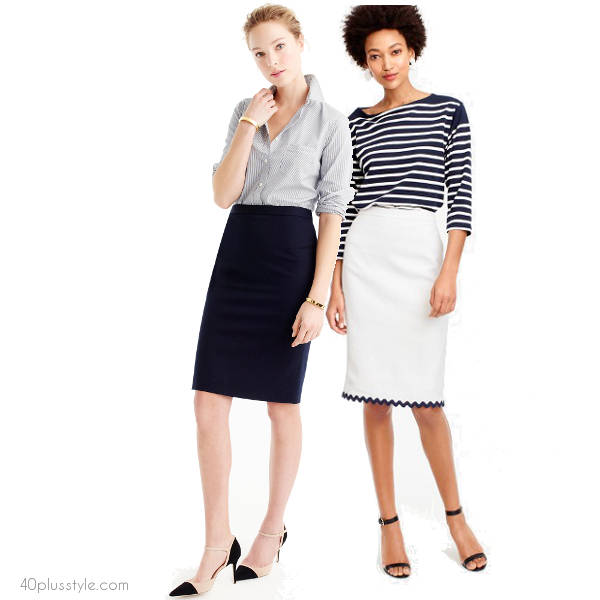 office looks for summer days | 40plusstyle.com