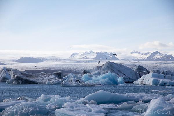 Majestic glaciers of Iceland | 40plusstyle.com