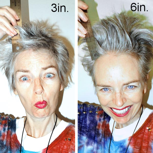 How to achieve Mel Kobayahshi's signature tower hair   40plusstyle.com
