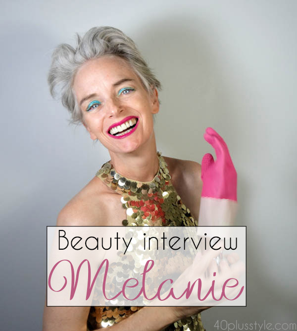 Having fun with makeup and hair - A beauty interview with Melanie | 40plusstyle.com