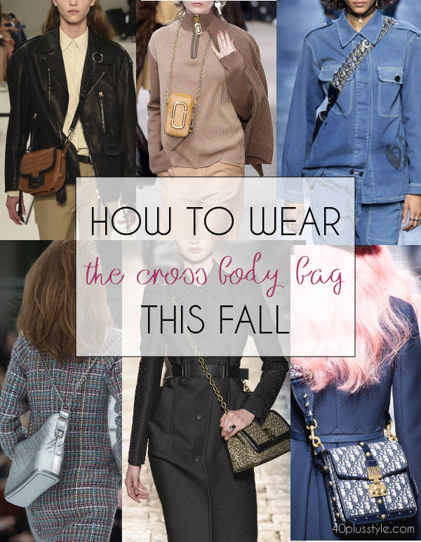 The best cross body bags for Fall | 40plusstyle.com