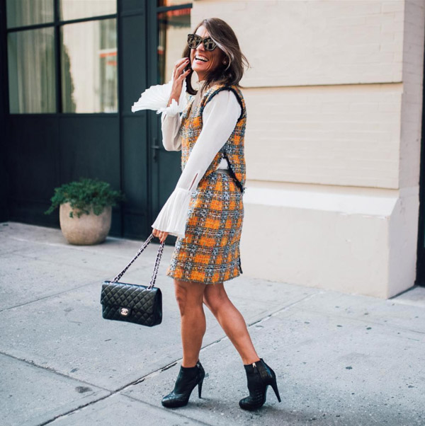 Chic ways to style boots with your outfit | 40plusstyle.com