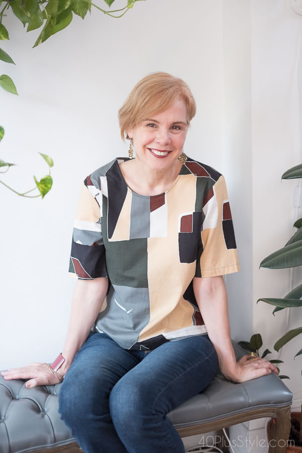 How to style modern pieces | 40plusstyle.com