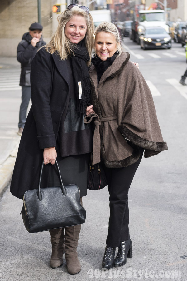 Open face coats and how to style them | 40plusstyle.com