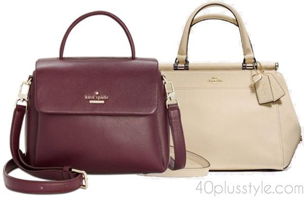 Items to splurge on: quality designer handbags | 40plusstyle.com