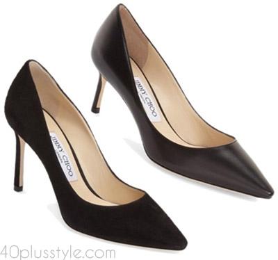 Items to splurge on: Black heels | 40plusstyle.com