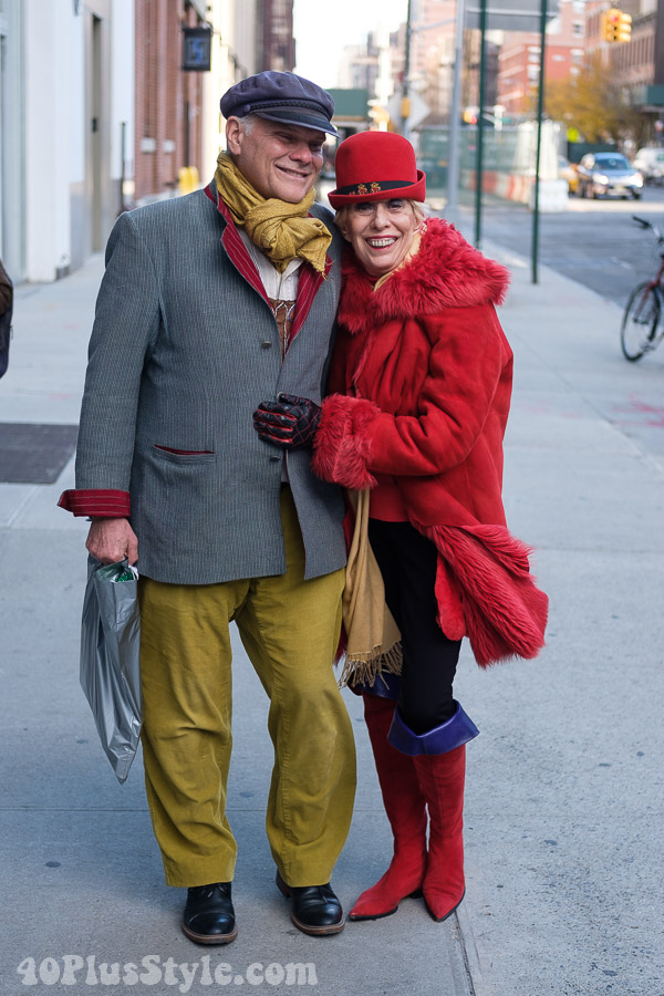 Stylish winter looks for women over 40 | 40plusstyle.com