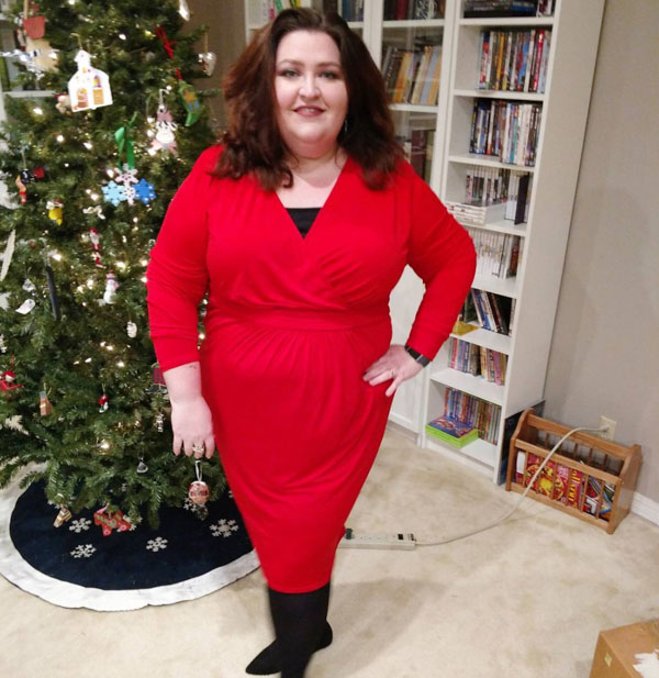 Red colored looks for the holidays | 40plusstyle.com