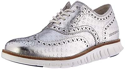 cole haan silver shoes for women over 40 | 40plusstyle.com