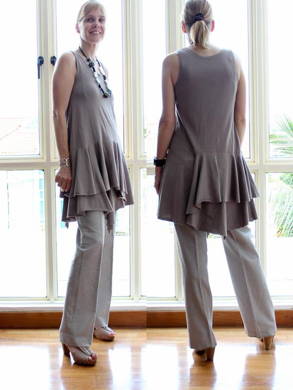 JNBL dress with pants