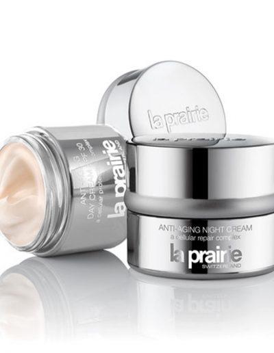 Review of La prairie anti-aging night cream | 40plusstyle.com