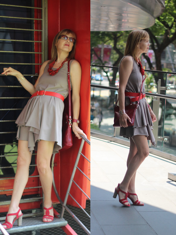 Over 40 fashion - short dress