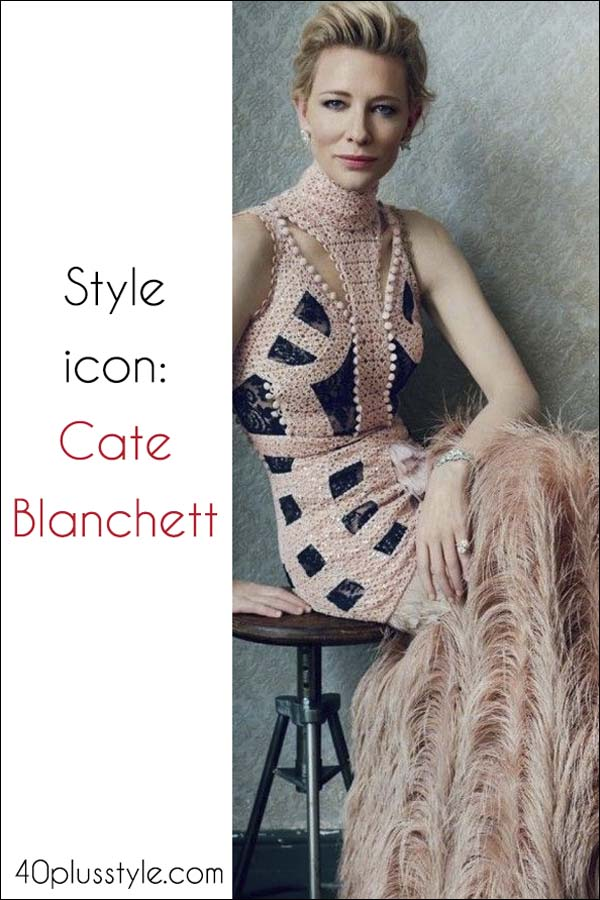 Cate Blanchett style icon | 40plusstyle.com