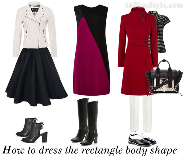 How To Dress The Rectangle Body Shape Dressing For Your