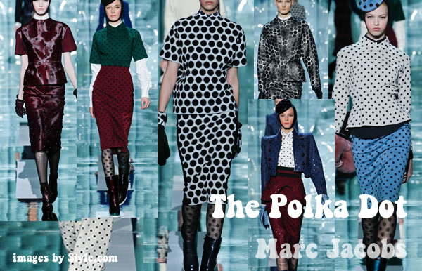 Polka Dot Fall trend 2011