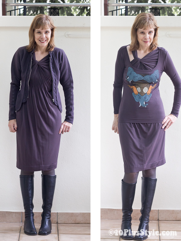 dressing for fall in alldressedup