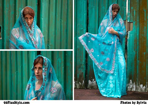 Sabine - wearing asian traditional dress