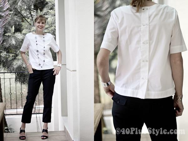 Basic white shirt from Zara
