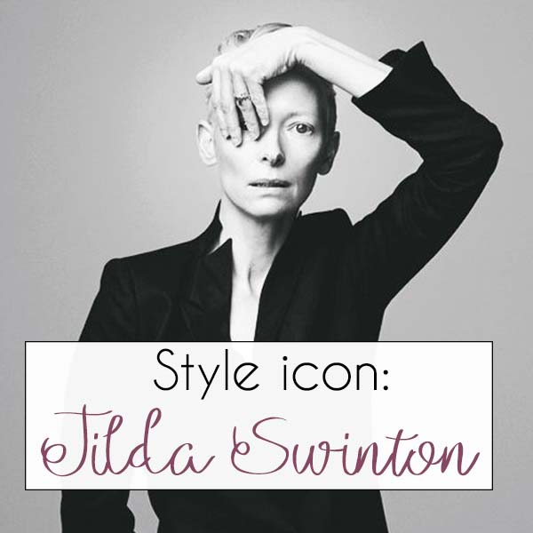 Tilda Swinton - style icon | 40plusstyle.com