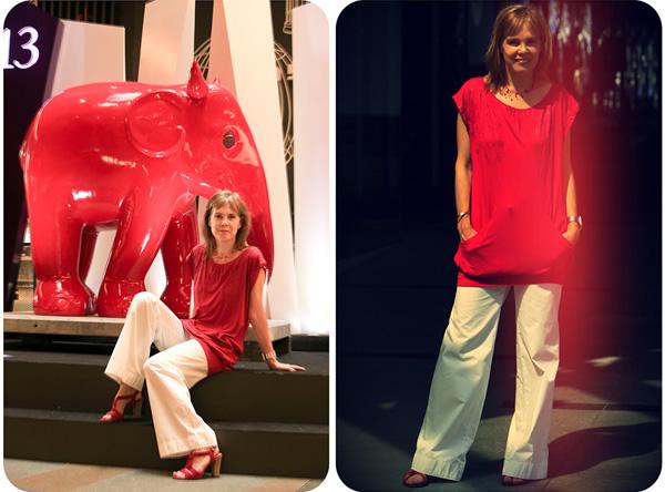 short dress worn 2 different ways
